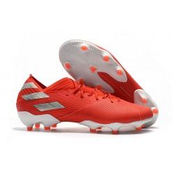 adidas Nemeziz 19.1 FG Soccer Shoes Active Red Siver
