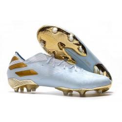 adidas Nemeziz 19.1 FG Soccer Shoes Bold Aqua Gold