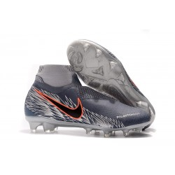 Nike Phantom Vision Elite DF FG Soccer Cleat Armory Blue Black Crimson