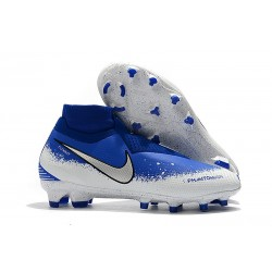 Nike Phantom Vision Elite DF FG Soccer Cleat Euphoria Pack Blue White