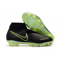 Nike Phantom Vision Elite DF FG Under The Radar Black Volt