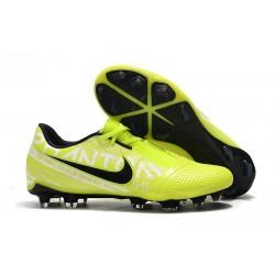 Nike Phantom VNM Elite FG Soocer Shoes Volt Black