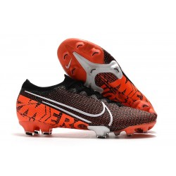 Nike Mercurial Vapor XIII Elite FG Black White Hyper Crimson LIMITED EDITION