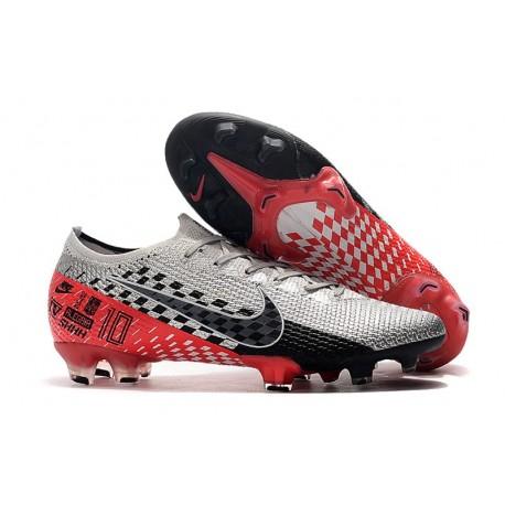 Nike Mercurial Vapor XIII Elite FG Neymar Chrome Black Red