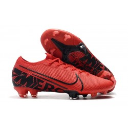 Nike Boots Mercurial Vapor 13 Elite FG Red Black
