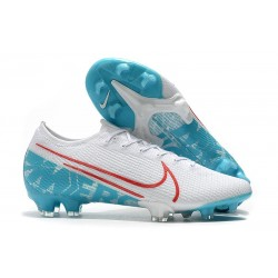 Nike Boots Mercurial Vapor 13 Elite FG White Blue