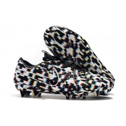 Nike Tiempo Legend VIII Elite FG Cleat Black White