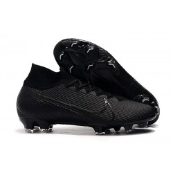 Nike Mercurial Superfly 7 Elite FG New Boots - Under The Radar Black