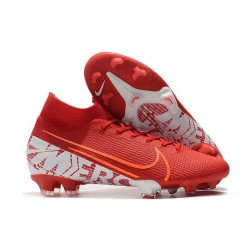 Nike Mercurial Superfly 7 Elite FG New Boots - Red White