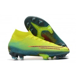 Nike Mercurial Superfly VII Elite FG Cleat Dream Speed 002 Volt
