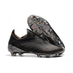 adidas X 19+ Firm Ground Soccer Cleats Dark Script Core Black