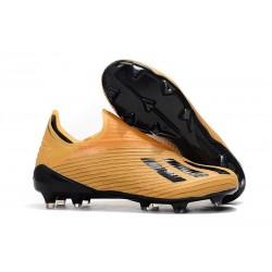 adidas X 19+ Firm Ground Soccer Cleats Orange Black