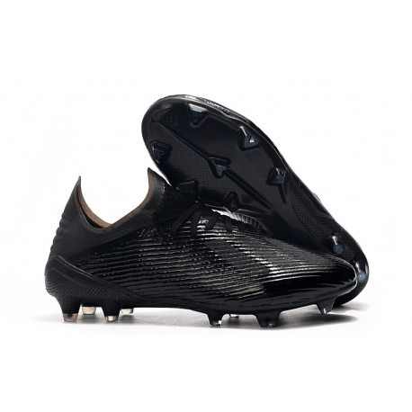 adidas Men's X 19.1 FG Soccer Cleats Black