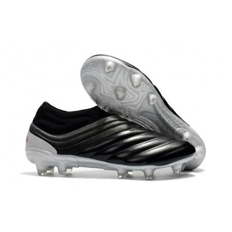 adidas Copa 19+ FG Soccer Cleats Core Black Hi-Res-Red