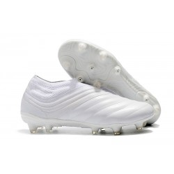 adidas Copa 19+ FG Soccer Cleats White