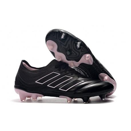 adidas Copa 19.1 FG Soccer Boots Black Pink