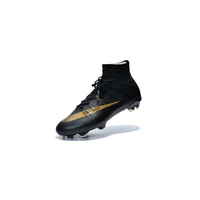 the best attitude cc6e5 432b5 Nike New Shoes Mercurial Superfly 4 FG Soccer Cleats Black Gold