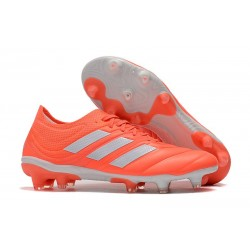 adidas Copa 19.1 FG Soccer Boots Solar Red White