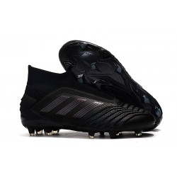 adidas Predator 19+ FG Soccer Cleats Core Black