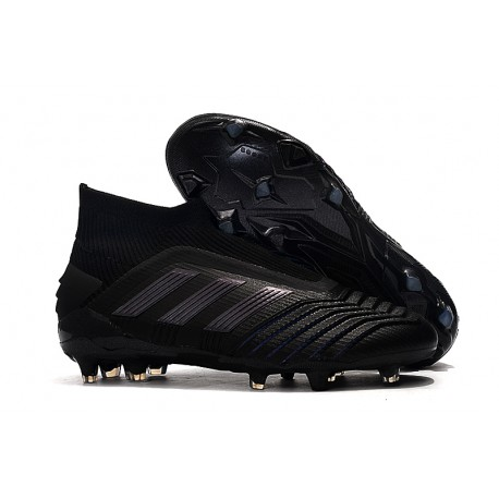 adidas Predator 19+ FG Soccer Cleats Core Black