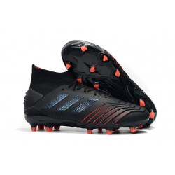 adidas Predator 19.1 FG Men's Boots Archetic Black Red