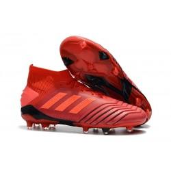adidas Predator 19.1 FG Men's Boots Active Red