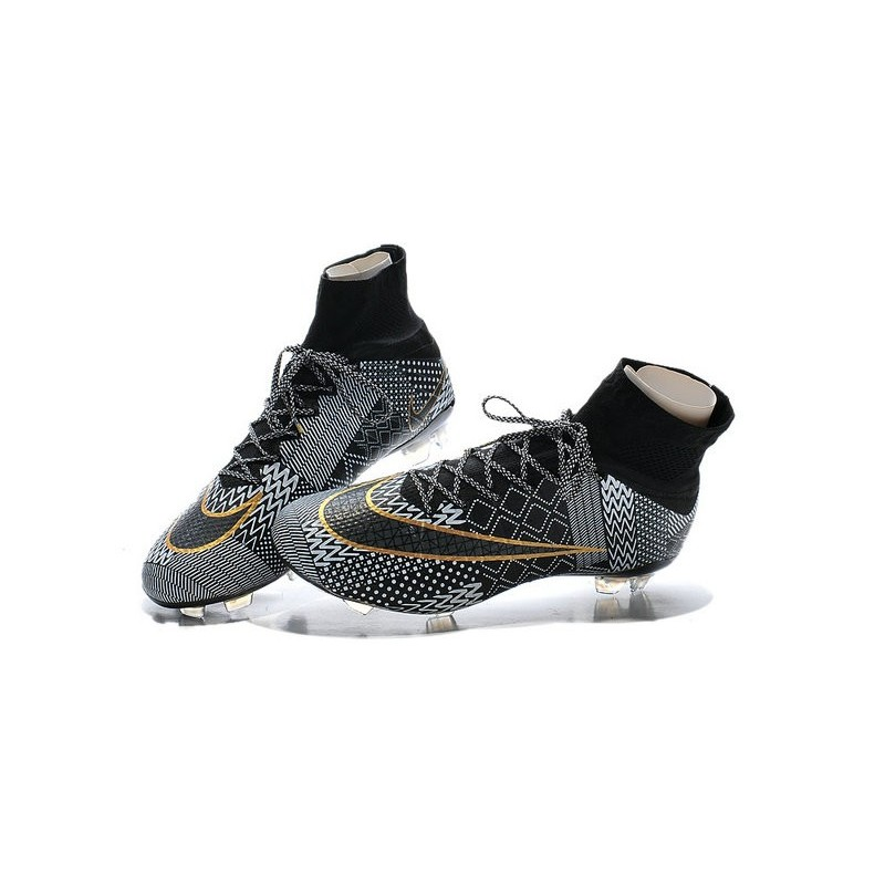 e2c13bc33 ... ireland mens nike mercurial superfly iv fg soccer shoes bhm black  history month black white gold