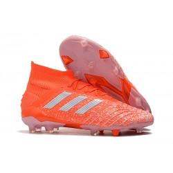 adidas Predator 19.1 FG Men's Boots Orange Silver