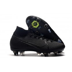 Nike Mercurial Superfly 7 Elite SG-PRO Anti-Clog Black