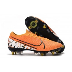 Nike Mercurial Vapor 13 Elite SG-Pro Anti-Clog Orange White Black
