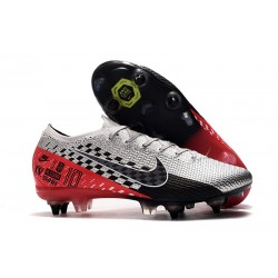 Nike Mercurial Vapor 13 Elite SG-Pro Anti-Clog Neymar Chrome Black Red