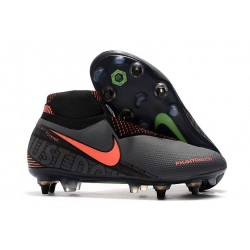 Nike Phantom VSN Elite DF SG-Pro Anti Clog Dark Grey Bright Mango