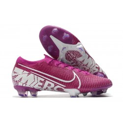 Nike Mercurial Vapor XIII Elite FG Soccer Cleat Purple White