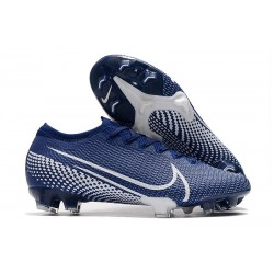 Nike Mercurial Vapor XIII Elite FG Soccer Cleat Blue White
