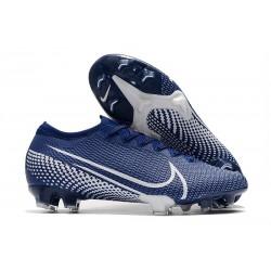 Nike Mercurial Vapor XIII Elite FG Soccer Cleat Blue White