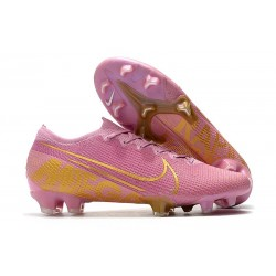 Nike Mercurial Vapor XIII Elite FG Soccer Cleat Pink Gold