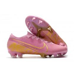 Nike Mercurial Vapor XIII Elite FG Soccer Cleat Pink Gold