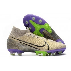 Nike Mercurial Superfly 7 AG Elite Desert Sand Black Psychic Purple