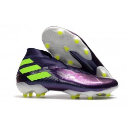 Adidas Nemeziz 19+ FG Firm Ground Boot Purple Volt