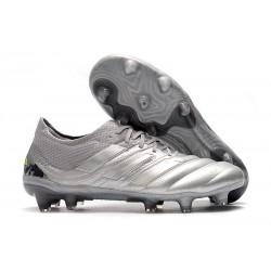 adidas Copa 20.1 FG Soccer Boots Silver Solar Yellow