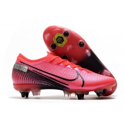 Nike Mercurial Vapor 13 Elite SG-Pro Anti-Clog Future Lab -Laser Crimson Black