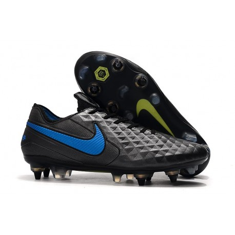 Nike Tiempo Legend VIII Elite SG-PRO AC Black Blue