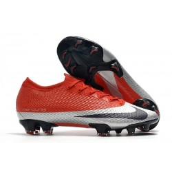 Nike Mercurial Vapor XIII Elite FG Soccer Cleat Future DNA Red Silver