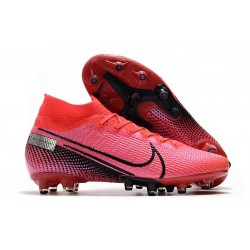 Nike Mercurial Superfly 7 AG Elite Cleats Crimson Black