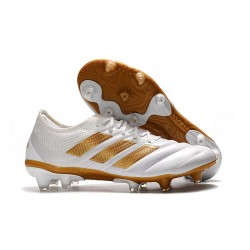 adidas Copa 19.1 FG Soccer Boots White Gold