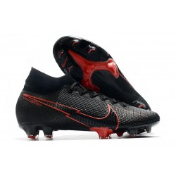 Nike Mercurial Superfly 7 Elite FG New Black Red