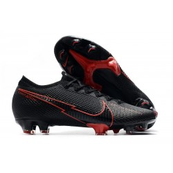 Nike Mercurial Vapor XIII Elite FG Soccer Cleat Black Red