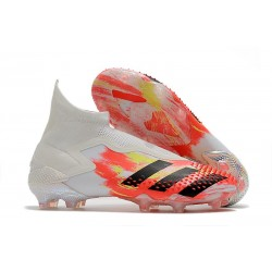 adidas Predator Mutator 20+ FG New Cleats - White Core Black Pop