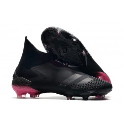 adidas Predator Mutator 20+ FG Dark Motion - Core Black Shock Pink