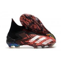 adidas Predator Mutator 20+ FG New Cleats Core Black White Active Red